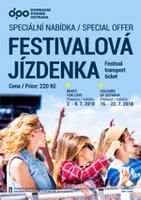 Týdenní Festivalová jízdenka