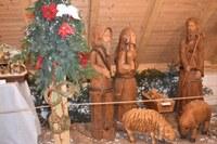 Výstavy betlémů na Slezskostravském hradě a vánočního jarmarku Vánoce na hradě